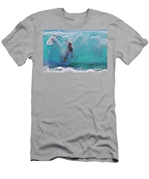 Wipe Out Men's T-Shirt (Slim Fit) by Craig Wood