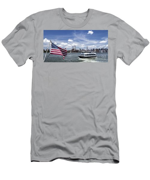 Men's T-Shirt (Athletic Fit) featuring the photograph New York by Juergen Held