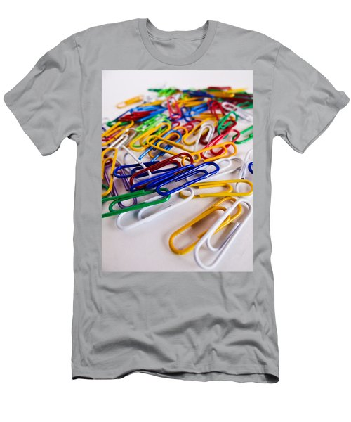 100 Paperclips Men's T-Shirt (Athletic Fit)