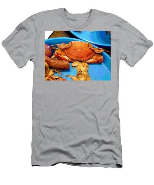 101516 Crab Boil Men's T-Shirt (Athletic Fit)