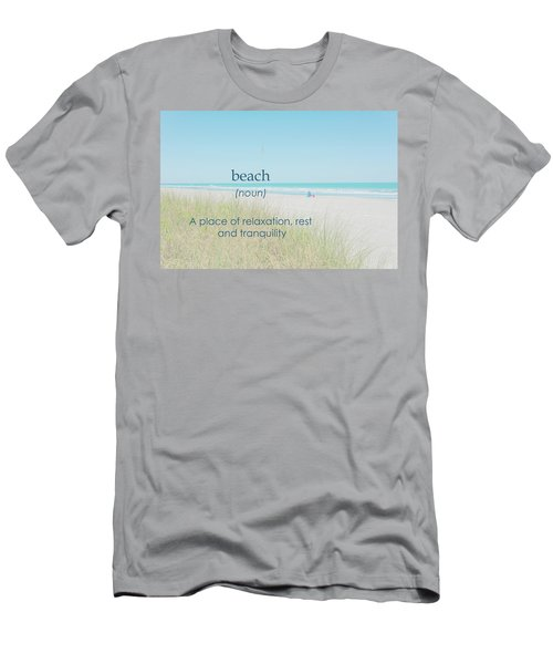 10967 Beach Tranquility Men's T-Shirt (Athletic Fit)