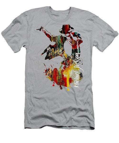 Michael Jackson Collection Men's T-Shirt (Athletic Fit)