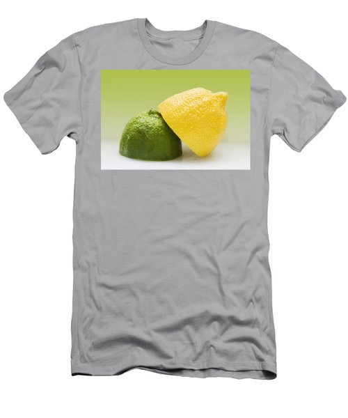 12 Organic Lemon And 12 Lime Men's T-Shirt (Athletic Fit)