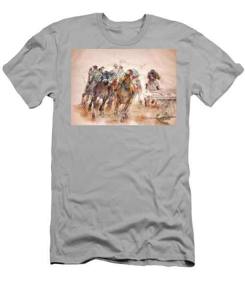 American  Pharaoh  Album  Men's T-Shirt (Slim Fit) by Debbi Saccomanno Chan