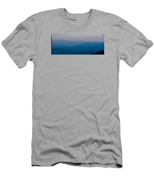 Panoramic Fine Art Prints Men's T-Shirt (Slim Fit) by Kevin Blackburn
