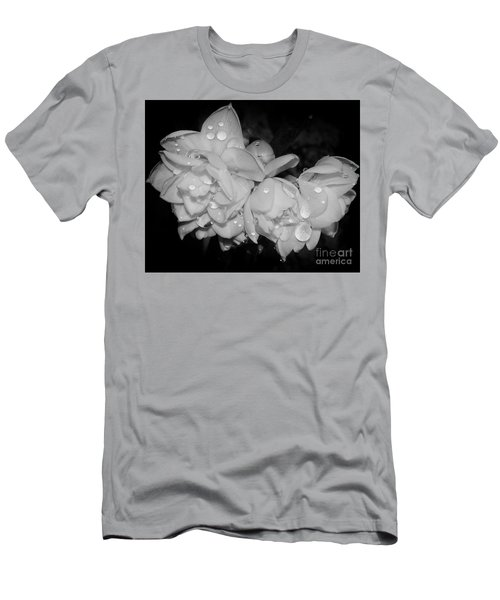 Men's T-Shirt (Slim Fit) featuring the photograph Flowers by Elvira Ladocki