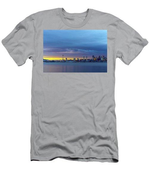 Seattle Men's T-Shirt (Slim Fit) by Evgeny Vasenev