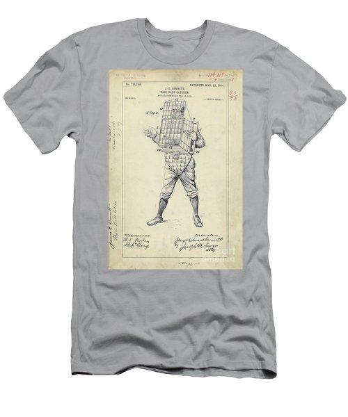 1904 Baseball Catcher Patent Men's T-Shirt (Athletic Fit)
