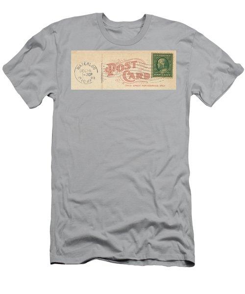 1909 Postcard Men's T-Shirt (Athletic Fit)