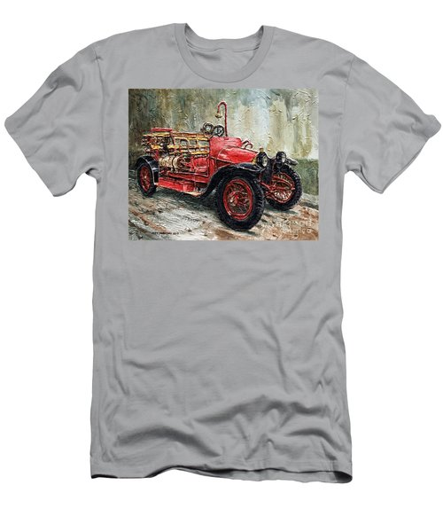 1912 Porsche Fire Truck Men's T-Shirt (Athletic Fit)
