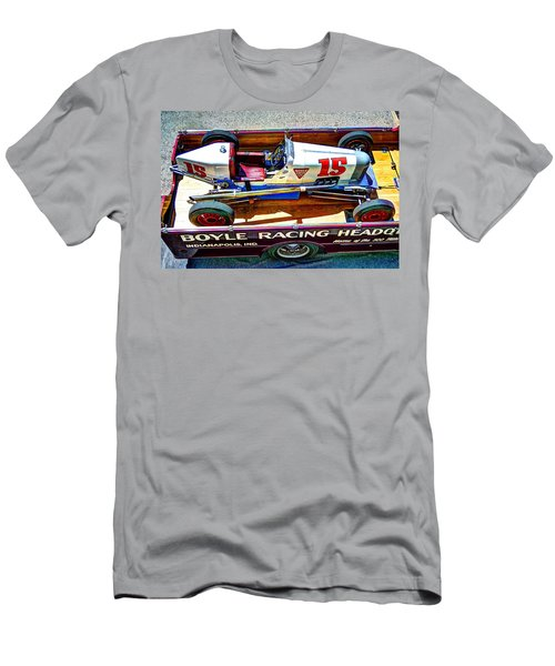 1927 Miller 91 Rear Drive Racing Car Men's T-Shirt (Athletic Fit)