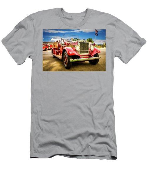 1931 Mack - Heber Valley Fire Dept. Men's T-Shirt (Athletic Fit)