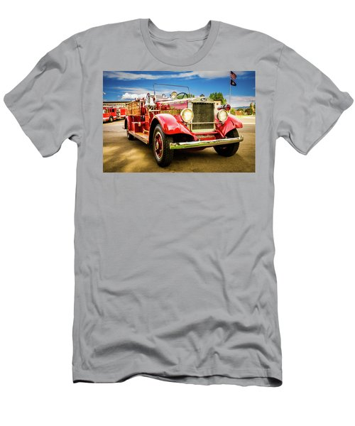 1931 Mack - Heber Valley Fire Dept. Men's T-Shirt (Athletic Fit)