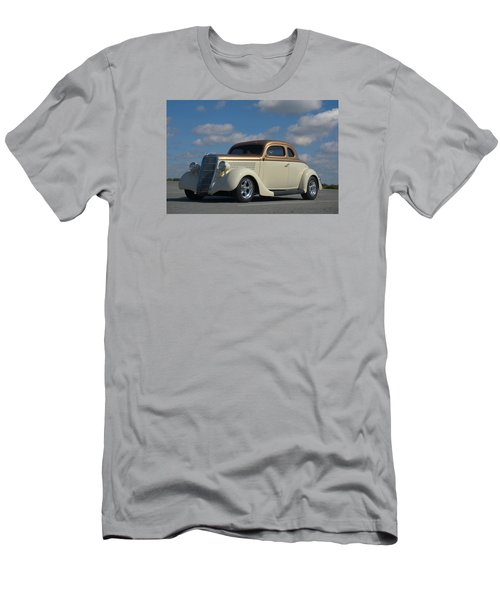 1935 Ford Coupe Hot Rod Men's T-Shirt (Slim Fit) by Tim McCullough