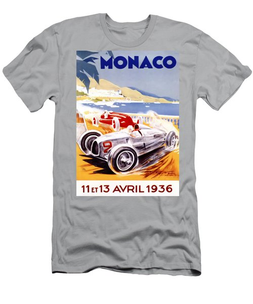 1936 F1 Monaco Grand Prix  Men's T-Shirt (Athletic Fit)