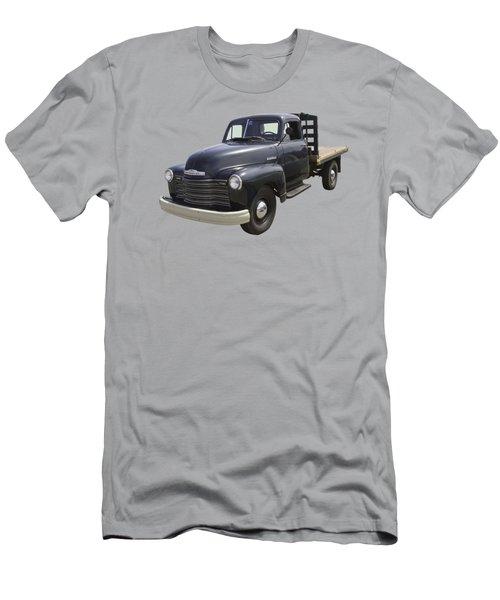 1950 Chevrolet Flat Bed Pickup Truck Men's T-Shirt (Athletic Fit)