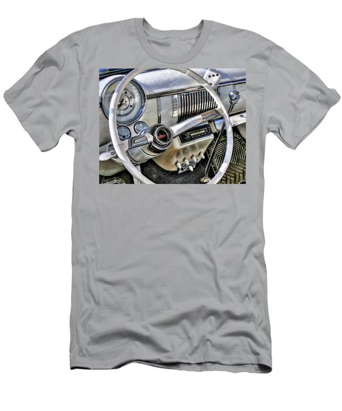 1950 White Chevy Coupe Men's T-Shirt (Slim Fit) by Trey Foerster