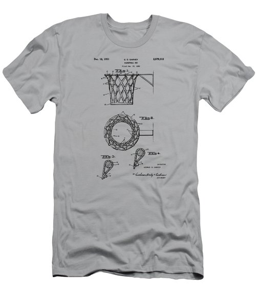 1951 Basketball Net Patent Artwork - Vintage Men's T-Shirt (Athletic Fit)