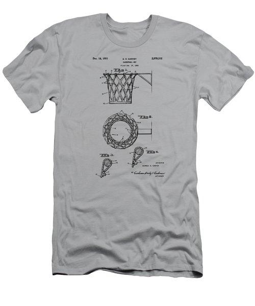 1951 Basketball Net Patent Artwork - Vintage Men's T-Shirt (Athletic Fit)