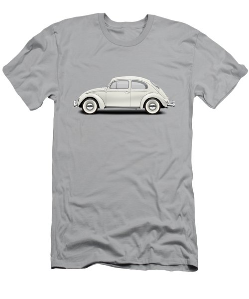 1961 Volkswagen Deluxe Sedan - Pearl White Men's T-Shirt (Slim Fit)