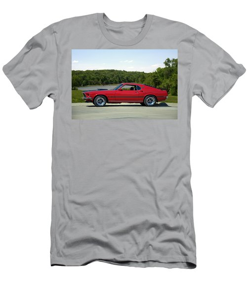 1969 Mustang Mach 1 Men's T-Shirt (Slim Fit) by Tim McCullough