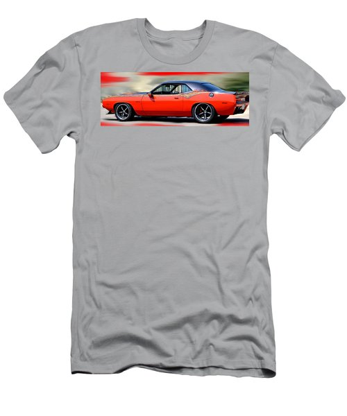 1970 Dodge Challenger Srt Men's T-Shirt (Athletic Fit)