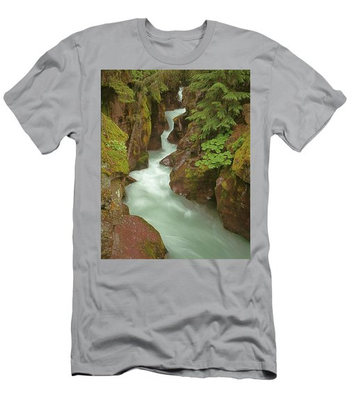 1m8115 Avalanche Gorge Mt Men's T-Shirt (Athletic Fit)