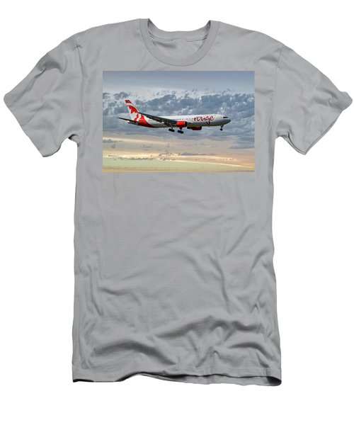 Air Canada Rouge Boeing 767-35h Men's T-Shirt (Athletic Fit)