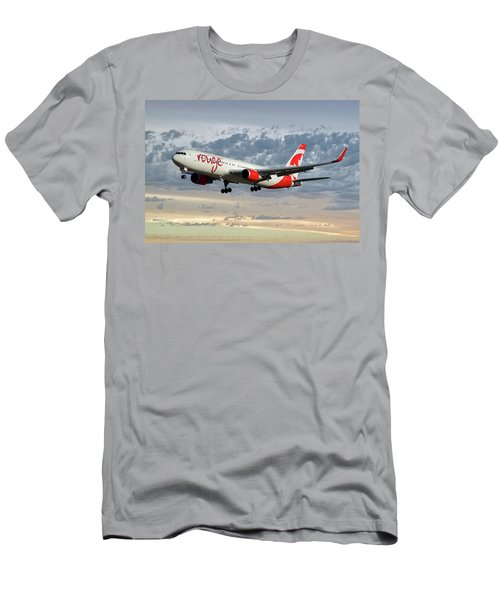 Air Canada Rouge Boeing 767-333 114 Men's T-Shirt (Athletic Fit)