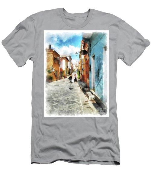 Arzachena Garibaldi Street Men's T-Shirt (Athletic Fit)