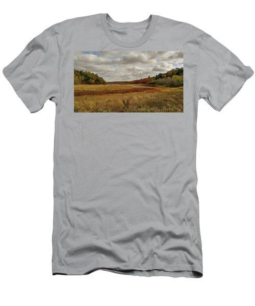 Autumn  Men's T-Shirt (Slim Fit)