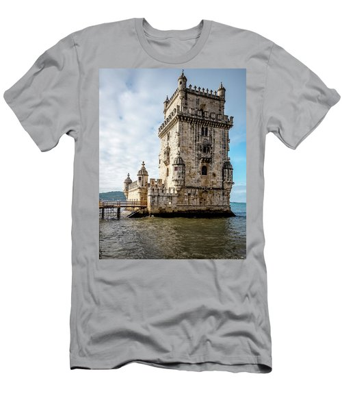 Belem Tower Men's T-Shirt (Athletic Fit)