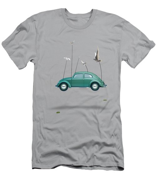 Cars  Men's T-Shirt (Slim Fit) by Mark Ashkenazi