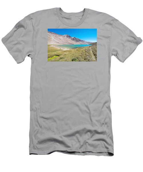 Men's T-Shirt (Athletic Fit) featuring the photograph Chandratal Lake by Yew Kwang