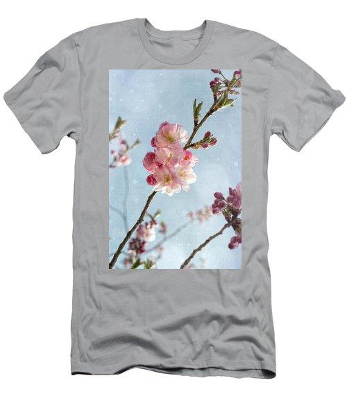 Cherrie Blossom Men's T-Shirt (Athletic Fit)