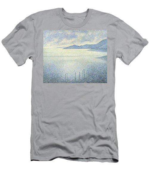 Coastal Scene Men's T-Shirt (Athletic Fit)