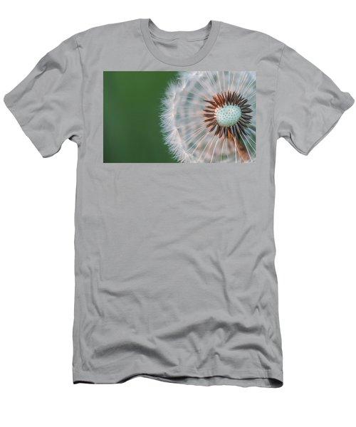 Men's T-Shirt (Slim Fit) featuring the photograph Dandelion by Bess Hamiti