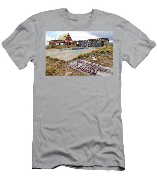 2 Guns Koa Men's T-Shirt (Athletic Fit)
