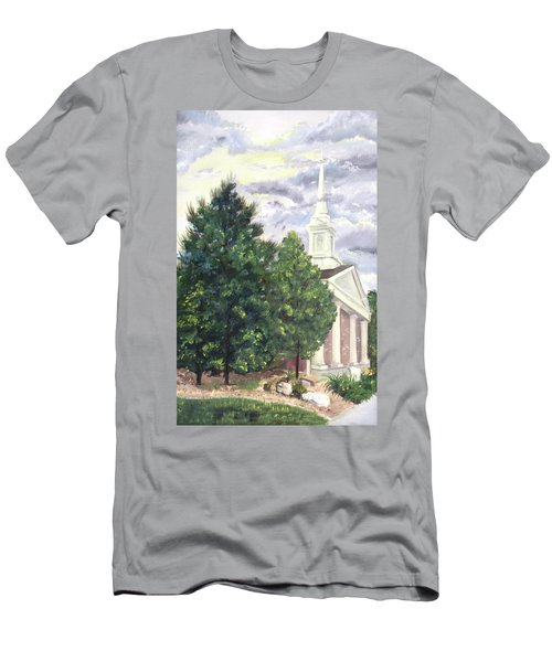 Hale Street Chapel Men's T-Shirt (Slim Fit) by Jane Autry