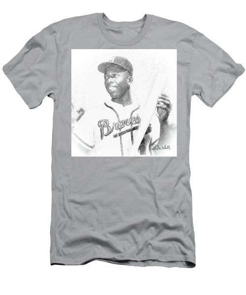 Hank Aaron Men's T-Shirt (Athletic Fit)
