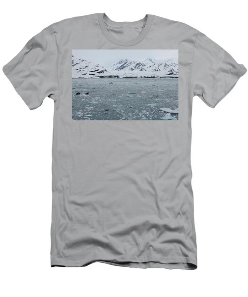 Men's T-Shirt (Athletic Fit) featuring the photograph Icy Wonderland by Brandy Little