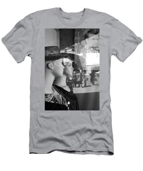 Is That Him Men's T-Shirt (Slim Fit) by Jez C Self