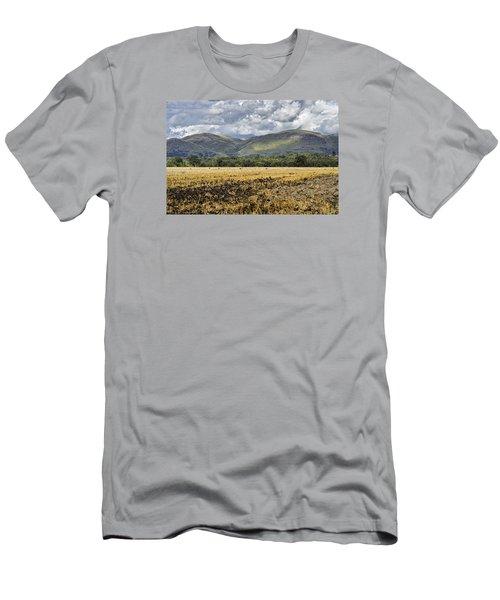 Ochil Hills Men's T-Shirt (Slim Fit) by Jeremy Lavender Photography
