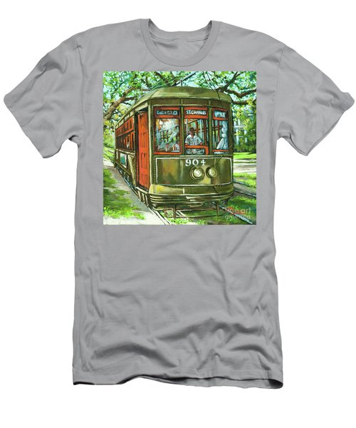 Men's T-Shirt (Slim Fit) featuring the painting St. Charles No. 904 by Dianne Parks