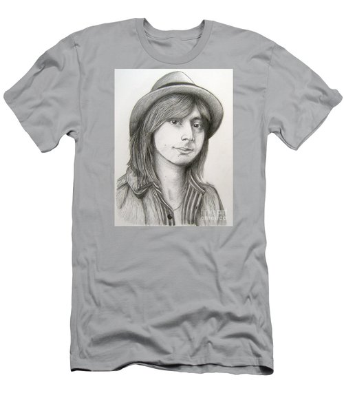Steve Perry Men's T-Shirt (Slim Fit) by Patrice Torrillo