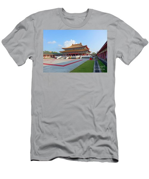 The Confucius Temple In Kaohsiung, Taiwan Men's T-Shirt (Athletic Fit)