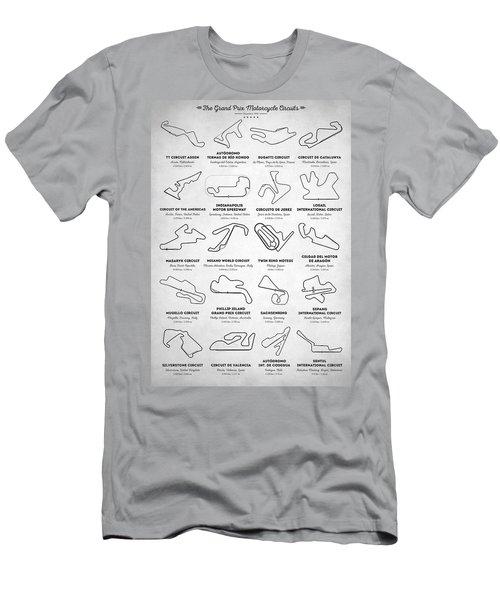 The Motogp Circuits Men's T-Shirt (Athletic Fit)