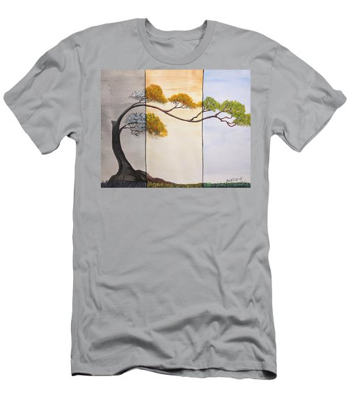 Time After Time Men's T-Shirt (Slim Fit) by Edwin Alverio