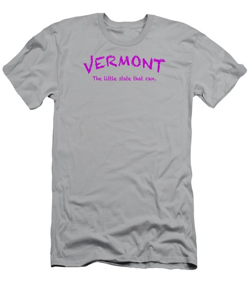 Vermont Little State Men's T-Shirt (Athletic Fit)