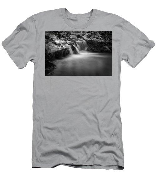 Waterfall  Men's T-Shirt (Slim Fit) by Scott Meyer